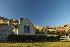 Amisfield Winery Central Otago New Zealand Central Otago, Outdoor Food, New Zealand Travel, Lunches, Sculpture, Wine, Spaces, Adventure, Mansions