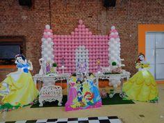 Momento Mágico Decorações : Princesas Com castelo