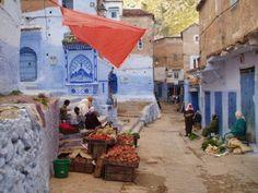 Marchand de légumes. Chefchaouen. #Morocco