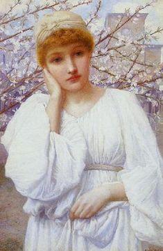 """Spring"", Henry Ryland. British, 1856 - 1924"