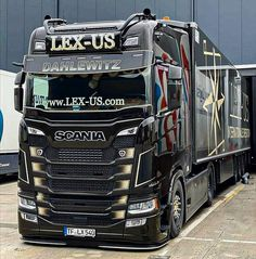 Customised Trucks, Cool Trucks, Volvo, Holland, Transportation, How To Look Better, Van, Photo And Video, Vehicles