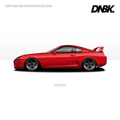 JDM muscle. Artwork available at Dirtynailsbloodyknuckles.com Link in profile #toyota #supra #toyotasupra #mk4 #mk4supra #jza80 #2jz #bigsingle #jdm #carart #automotiveart #illest #illustration #illustrator #automotiveapparel #mk3 #celica #1jz
