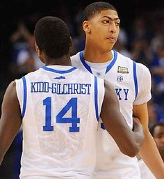 Anthony Davis, Michael Kidd-Gilchrist go one-two in 2012 NBA Draft.