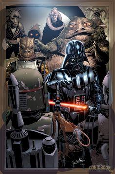 Star Wars Darth Vader #1 Variants (9)