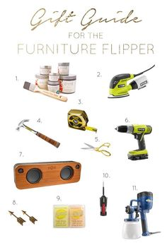 2015 Holiday Gift Guide for the Furniture Flipper - brepurposed