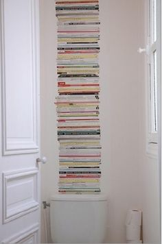 Magazines on Wallpaper on Wall