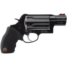 Taurus Judge Model 4510 Public Defender Revolver .45 Long Colt and .410 Bore 2 Barrel 5 Rounds Black Ribber Grip Blued Finish