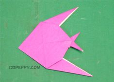 Art and craft for kids video it is easy to simp origami fish home improvement contractors . art and craft for kids video Diy Crafts Videos, Craft Tutorials, Craft Projects, Project Ideas, Diy And Crafts Sewing, Crafts To Sell, Sea Animal Crafts, Origami Fish, Origami Art