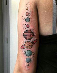 #tattoos #planets