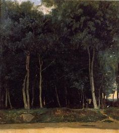 Fontainebleau, the Bas Breau Road - Camille Corot