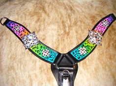 Breast Collars - Sadies Hand Painted Tack #handpaintedtack #customtack #SHPT