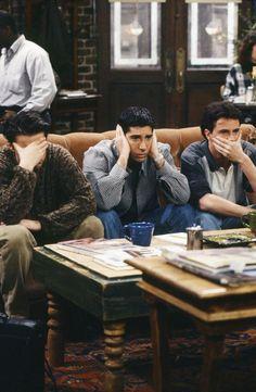 Episodio 21: «El de la falsa Monica» | 27 Impresionantes y raras fotos de la primera temporada de «Friends»