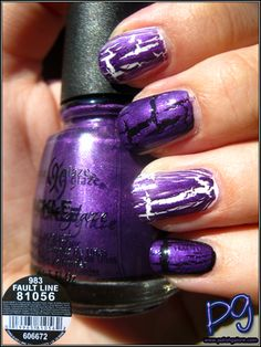 Polish Galore: China Glaze Fault Line