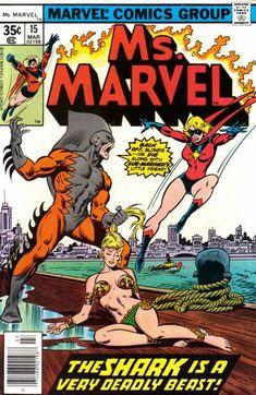 Ms. Marvel # 15 by John Buscema & Joe Sinnott