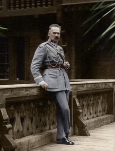 Józef Piłsudski (1867-1935), Polish statesman—Chief of State (1918–22), 'First Marshal' (from 1920), and authoritarian leader (1926–35) of the Second Polish Republic.