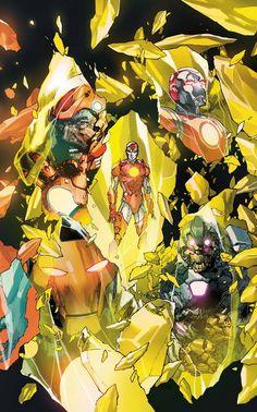 AVENGERS #34 First Look: Iron Lad Returns! | Newsarama.com