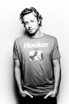 Hard to believe this is Patrick Jane.....but makes him even better to look at :)