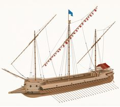 Venetian Galleas Spanish Armada, Shield Design, Wooden Ship, Ship Art, Model Ships, Tall Ships, Ancient Civilizations, Water Crafts, Sailing Ships