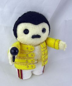Freddie Mercury III by ~deridolls on deviantART
