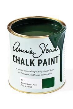 New Annie Sloan colour: Amsterdam Green Chalk Paint®