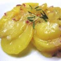 Austrian Potato Salad Recipe (served warm, looks just like the stuff I had in Vienna).