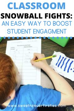 Are you looking for a fun, hands-on activity you can play with your elementary students that will help boost engagement? In this post, I am sharing all about classroom snowball fights and how you can use them for all subject areas. This low prep winter activity can be used for reading, writing, math and more. You can use this as an exit ticket for an informal assessment. You can also play this game at your next classroom party this winter. Find your next place value game right inside this post.