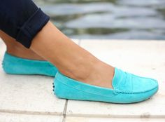 Bright Loafers, Just in Time for Spring!