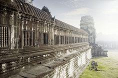 Angkor wat Asian Architecture, Angkor Wat, Railroad Tracks, Train Tracks