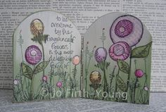 PaperArtsy: Time For Flowers By Jo Firth Young ....