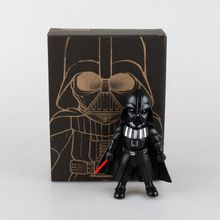 New Arrival Star Wars The Force Awakens Black Knight Darth Vader 14cm Action Figures Figurine Figura Kid Toy Juguetes Brinquedos