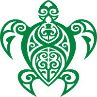 Check this out from Carstickers.com! Hawaiian Tribal Turtle Sticker - Car Stickers