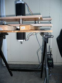 Torque test stand from plywood @ CNC Zone