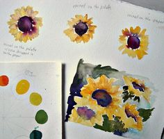 In and Out of The Studio: watercolor