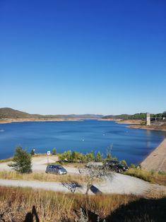 A Barragem de Santa Clara é uma barragem situada no rio Mira, concelho de Odemira. Localiza-se na freguesia de Santa Clara-a-Velha. Já foi em tempos a maior barragem portuguesa (in Wikipédia) Portugal, Santa Clara, Algarve, River, Outdoor, The Beach, Pictures, Outdoors