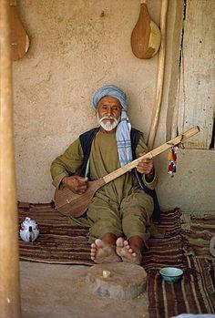 Musician, Tashkurgan, Afghanistan, Asia