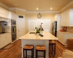 Custom kitchen by John Johnson Custom Homes.  #JJCH #LubbockCustomHomes #LubbockTexas #custombuilthomes