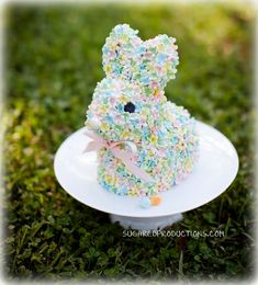 Easter bunny cake how to