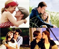 My 4 favorite romantic movies!