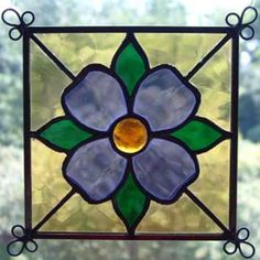 NEW Set of 4 Stained Glass Quilt Pattern Suncatcher 407 on PopScreen Stained Glass Patterns Free, Stained Glass Quilt, Stained Glass Ornaments, Making Stained Glass, Stained Glass Suncatchers, Stained Glass Flowers, Faux Stained Glass, Stained Glass Designs, Stained Glass Panels
