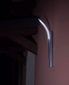 2er Set Muro Facciata continua Up Down Luci area esterna in acciaio inox faretti BALCONE