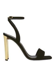 Giuseppe Zanotti Ankle Wrap Heel Sandals In Nero Strong Shoulders, Giuseppe Zanotti Heels, Ankle Strap Sandals, Fashion 2017, Open Toe, High Heels, My Style, Mini, Metal