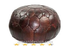 this #leather #pouf have a 5star #rating in amazon because it's  very #comfortable ottoman 100% leather , will find its place in your home .   amrani design offers the best quality with good price , moroccan leather ottoman lasts as long as you want .