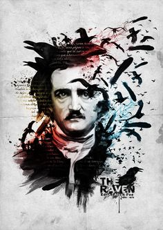 Today, (January 19, 2016), is Edgar Allan Poe's 207th birthday! © Jairo Guerrero, used with permission