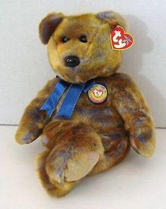 fdf100d9307 Beanie Buddies 19206  Ty Large Beanie Buddy Plush 2000 Clubby Iii 15 Teddy  Nwt! -  BUY IT NOW ONLY   16.99 on  eBay  beanie  buddies  large  buddy   plush ...
