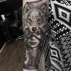 Trendy Tattoo Bein Waden - Famous Last Words Wolf Tattoos, Native Tattoos, Dream Tattoos, Elephant Tattoos, Finger Tattoos, Leg Tattoos, Body Art Tattoos, Sleeve Tattoos, Tatoos