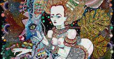 Del Kathryn Barton's fertile universe: 'The naked body is so many things' Del Kathryn Barton, Ian Potter, Australian Painting, Australian Art, Hugo Weaving, Franz Kline, Art Journal Inspiration, Art Inspo, Whimsical Art