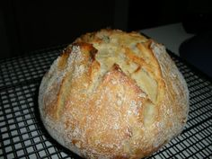 Easy NO KNEAD sour dough bread!