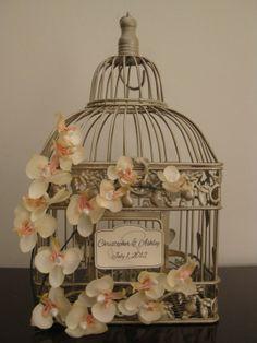 wedding bird cages card holders | Bird cage card holder | WEDDING: G+S