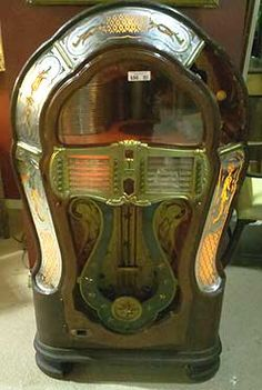 Image detail for -Vintage jukeboxes with those oh-so-familiar sounds | Auction Finds