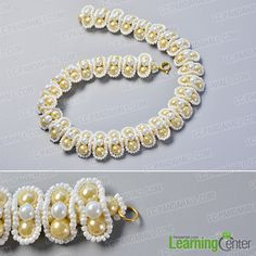 Finish the wedding pearl necklace